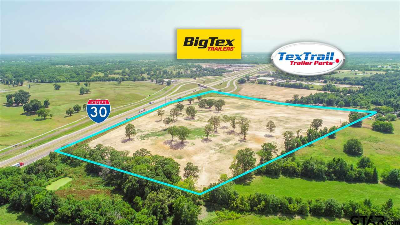 Directly off I-30! This 34+ acres is perfect for your next business endeavor! Call today for more information.