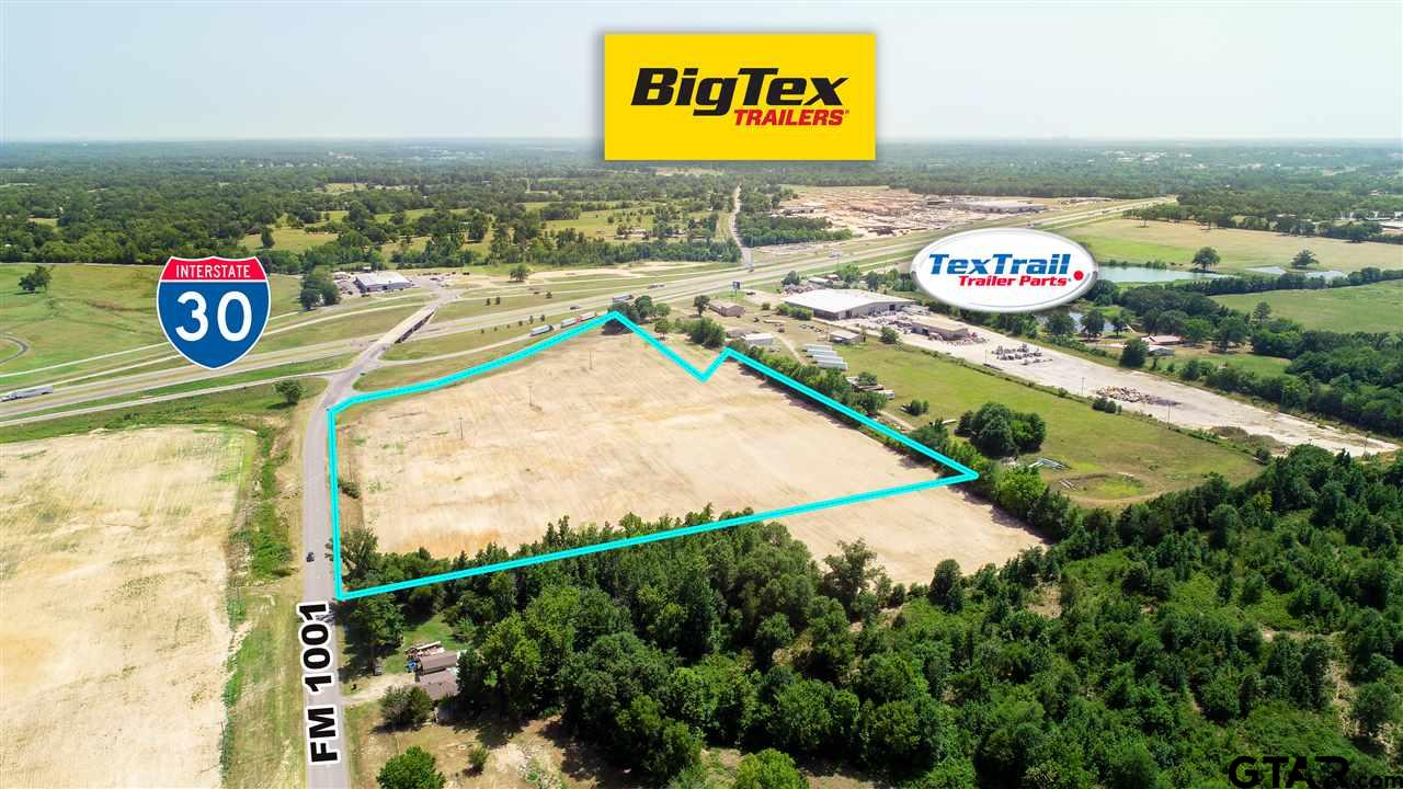 Great proximity to I-30. Near Big Tex, Lift Gator, Tex Trail, Camp Langston,  etc. This 13+ acres is perfect for your next business endeavor! Call today for more information.