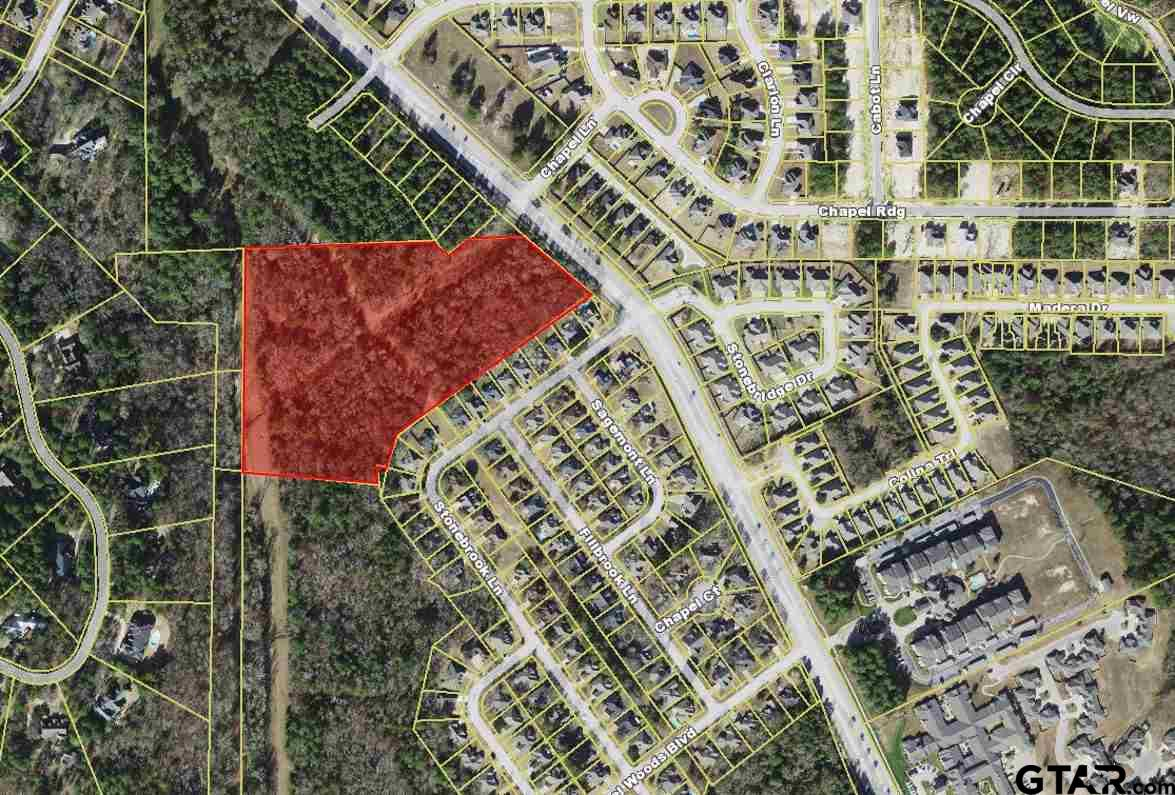 Great acreage available near Chapel Woods. Ready for development.