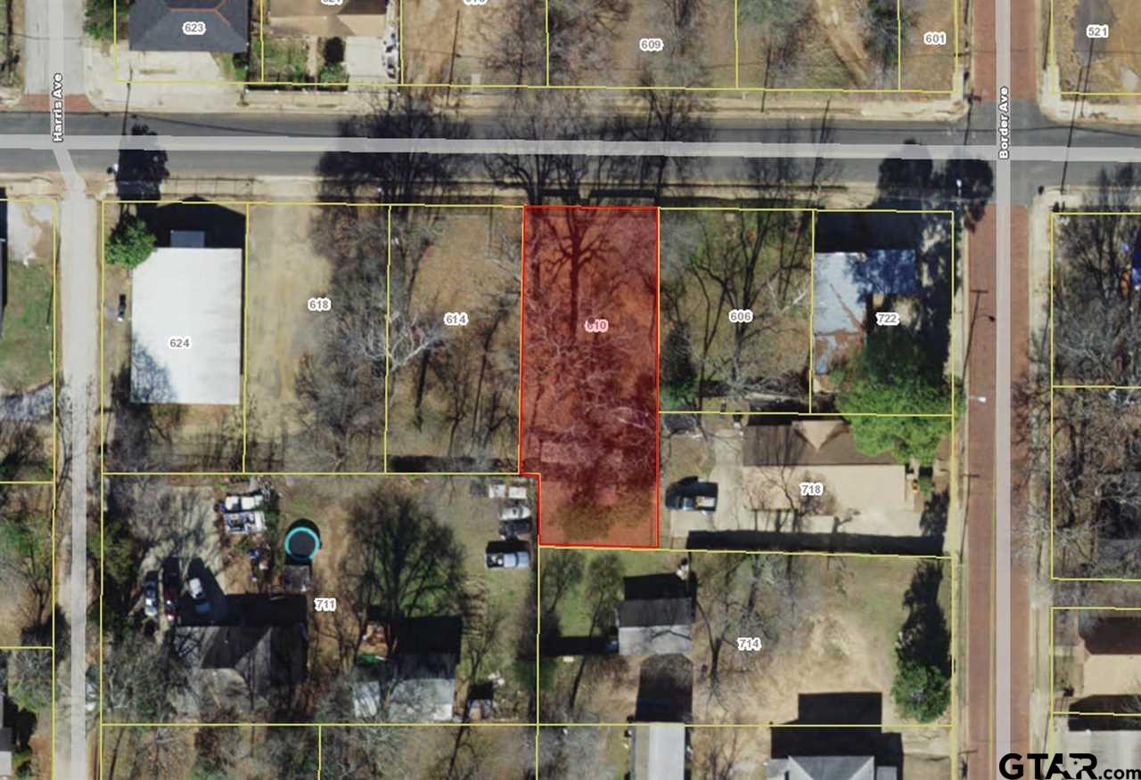 Residential Lot available in North Tyler near downtown!
