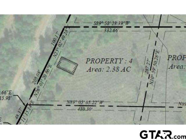 Lot 4 - Large lot available in Pittsburg with frontage on FM 556!