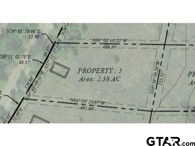 Lot 5 - Large lot available in Pittsburg with frontage on FM 556!