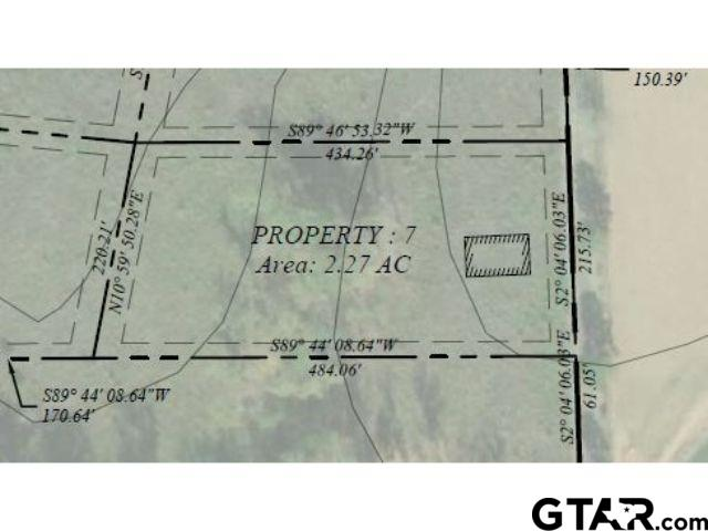 Lot 7 - Large lot available in Pittsburg with frontage on CR 1350!