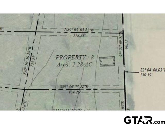 Lot 8 - Large lot available in Pittsburg with frontage on CR 1350!
