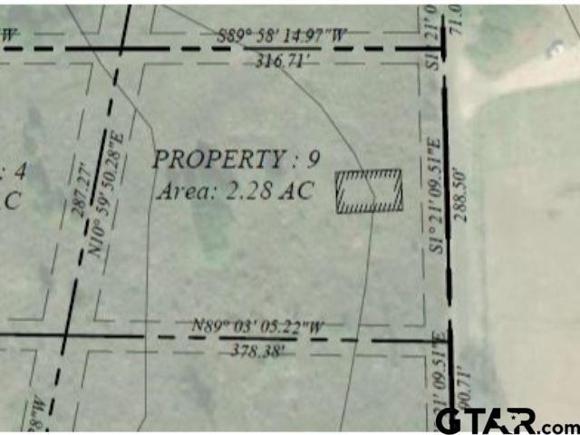 Lot 9 - Large lot available in Pittsburg with frontage on CR 1350!