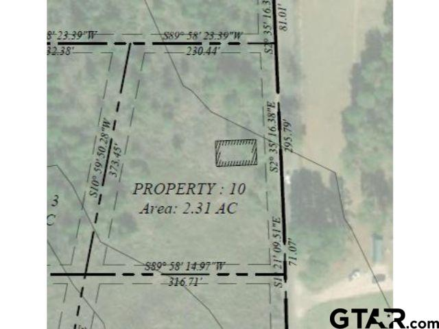 Lot 10 - Large lot available in Pittsburg with frontage on CR 1350!