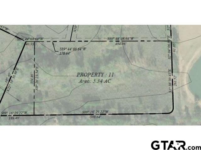 Lot 11 - Large lot available in Pittsburg with frontage on CR 1350!