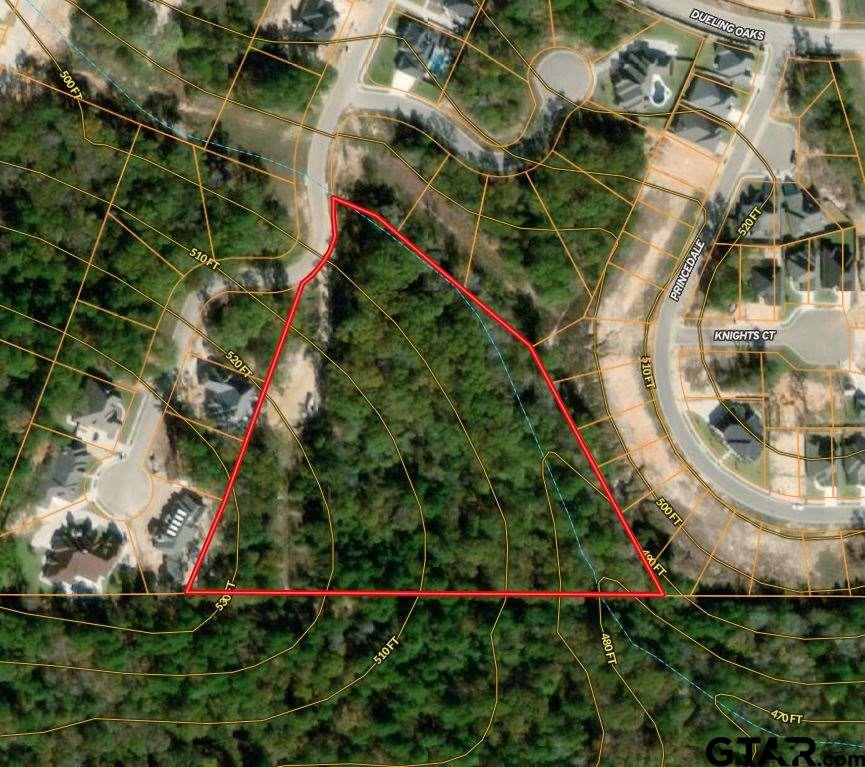 7 ac in sought after Oak Hollow Subdivision. Can be divided into up to 4 lots or remain as one large lot. Residential zoning and close to excellent schools. Deed Restrictions apply - see attachments.