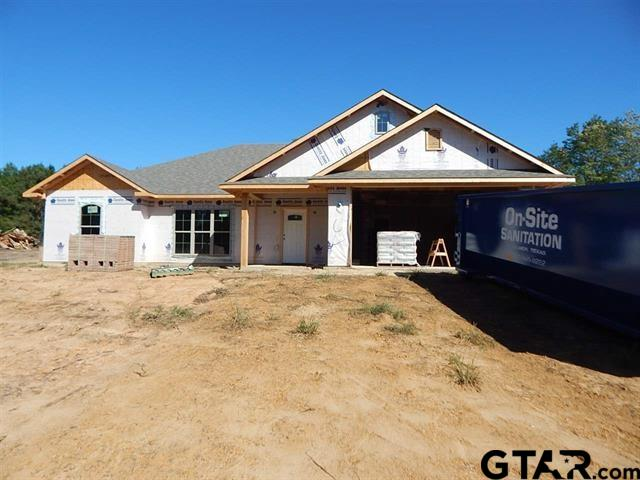 NEW CONSTRUCTION !!!! HARMONY ISD, 3 BEDROOM 2 BATH ON 1.9 ACRES. GRANITE COUNTER TOPS,SHUTTERS IN FRONT, OPEN FLOOR PLAN, SHAKER STYLE CABINETS, VINYL PLANK IN MAIN AREAS, CARPET IN BEDROOMS,TILE SHOWER IN MASTER, DELTA PLUMBING FIXTURES, FOAM INSULATION ON ROOF, BATTS INSULATION FOR EXTERIOR WALLS, CENTRAL HEAT AND AIR ( HEAT PUMP) 30 YEAR ARCHITECTURAL SHINGLES.THIS IS GOING TO BE A BEAUTIFUL HOUSE. SHOULD BE FINISHED IN 60 DAYS. BRING US A CONTRACT AND HELP CHOOSE THE COLORS.