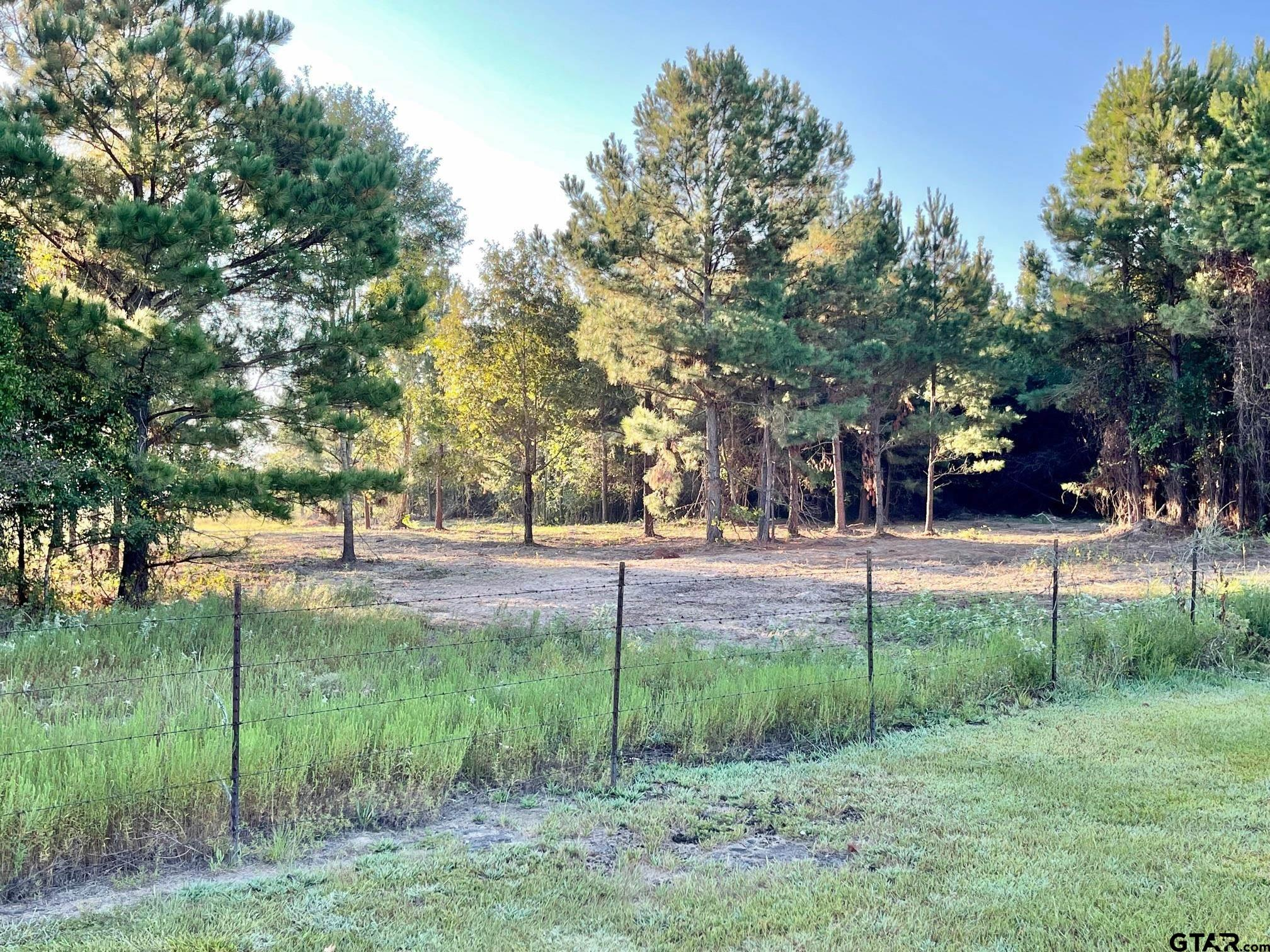 Look at this...2 acres ready for you! Nice level 2 acres of land & less Than 10 miles from Lake Hawkins. Big Sandy ISD. Great place to build home. Water and electricity available. Country enough, but not too far from HWY 80 or HWY 14. Convenient location! Mobile home restricted. Sign on property. Come see today!!...this will go quick!